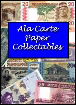 APCPaperCollectables-World Banknotes- Notgeld-Emergency